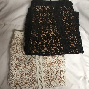 Kendall & Kylie lace skirts
